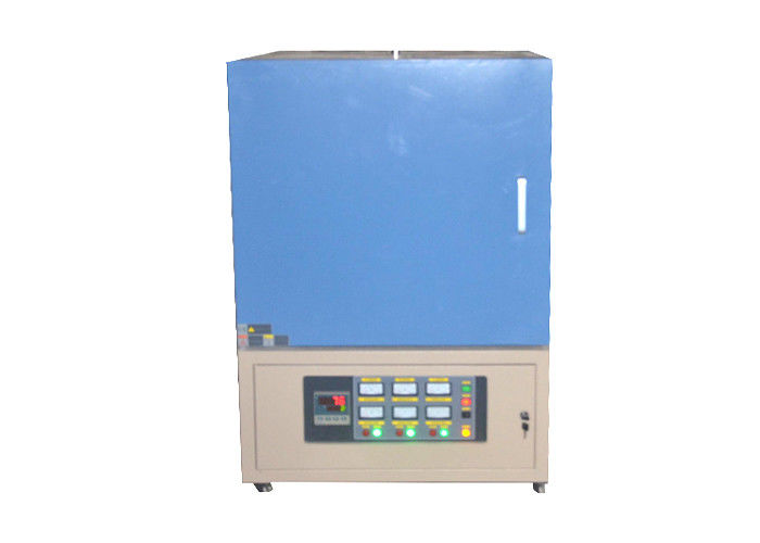 1800 ℃ High Temp Industrial Muffle Furnace Metal Refining With Cooling Fan