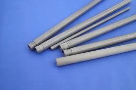 2.8g / Cm3 Silicon Nitride Tube , Si3n4 Protection Silicon Nitride Rod For Thermocouple
